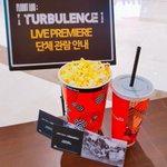 GOT7 <FLIGHT LOG : TURBULENCE> LIVE PREMIERE 단체 관람 아가새를 위한 팝콘&콜라 준비 완료!! #GOT7 #FLIGHTLOG #TURBULENCE #하드캐리 https://t.co/YlPChwl0eV