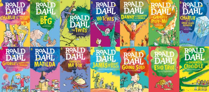 Roald Dahl Book Cover Pictures ~ Nearly k roald dahl books were sold in the uk during