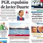 ¡Buenos días! Hoy en nuestra #Portada... En manos de la PGR, expulsión de Javier Duarte https://t.co/Sr9K7pLrAK https://t.co/2GMHCfPWLj
