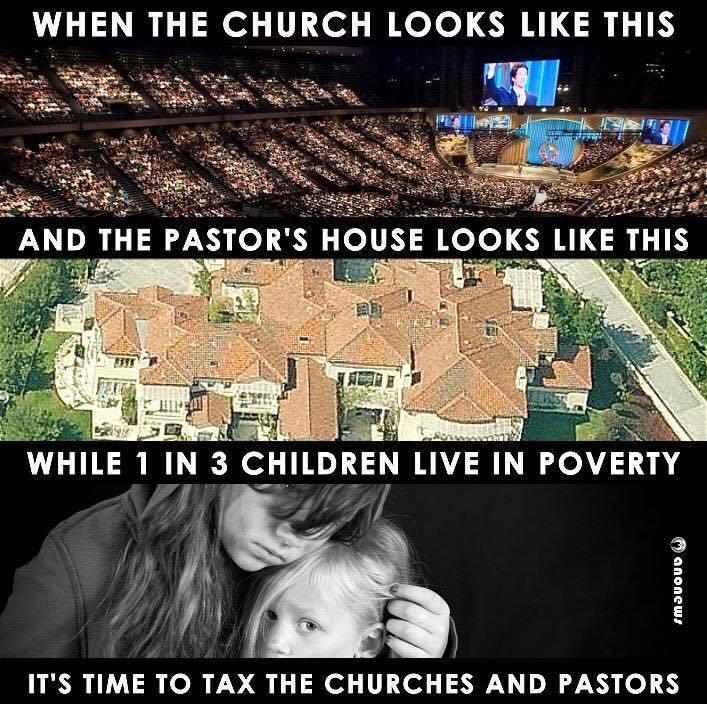 Tax the churches! https://t.co/Z9n5mQaCqP