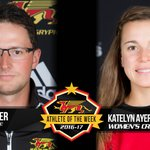 Nick Striker (Golf) & Katelyn Ayers (Cross Country) named Gryphon Athletes of the Week - https://t.co/GWunDEty57 https://t.co/mSV0QbSrF7
