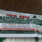 Workshop for Domestic and International Observers for the Edo Gov election organised by INEC in Benin https://t.co/EpBoxXP0Zn