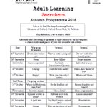 Our new term of Adult learning workshops has already begun, but dont be put off, newcomers are welcome at any time! https://t.co/7siTj0jGaf