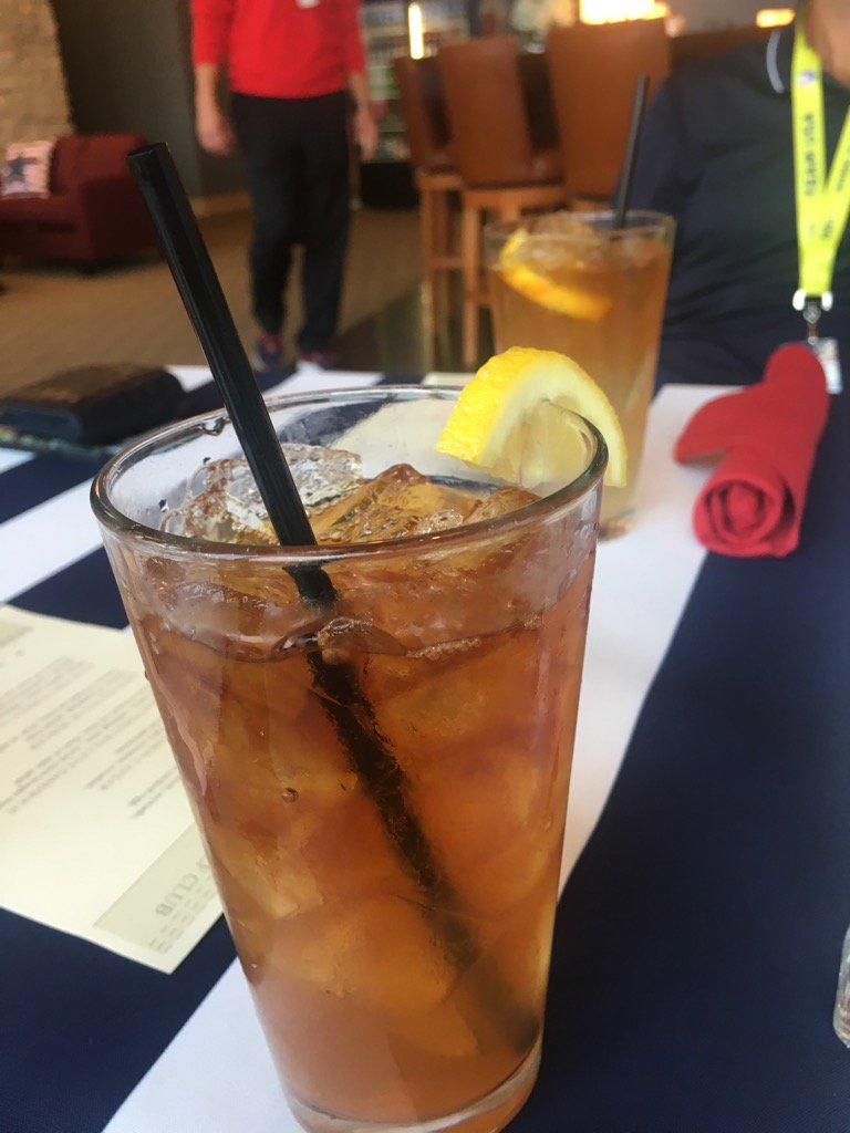 @RyderCupUSA team having an Arnold Palmer in honor of the King! https://t.co/T5bvrHEaaq