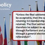 #labourconference #Lab16 unanimously adopts resolution on how we should handle any #Brexit deal: https://t.co/gyl9ozJddw