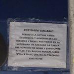 Sube un peso el medio boleto en transporte urbano en zona conurbada Veracruz-Boca del Río, por lo que cobran 7 pesos https://t.co/AooyDxk16B