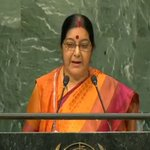 EAM Smt. @SushmaSwaraj addressing the 71st session of UNGA in New York. Watch LIVE at https://t.co/e4xPPimwov https://t.co/eY1d8PvkpE