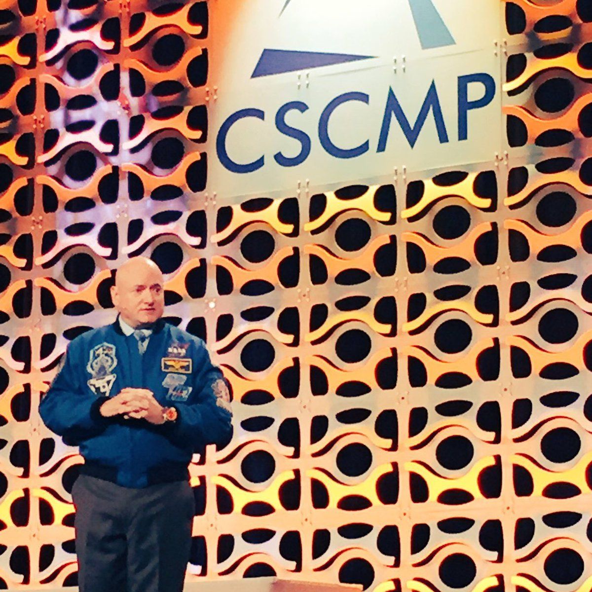 Always look for the things that are unlikely but have serious consequences. @StationCDRKelly at #CSCMP2016 https://t.co/RX83QAn1ZS