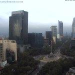 Cielo nublado en la Ciudad de México #CDMX. Temperatura actual: 16° C. Vista Paseo de la Reforma https://t.co/NhGSNpdCuM