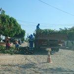 @prefmossoro executa recolhimento de garranchos descartados em vias públicas, rua Benjamin Constant, Boa Vista https://t.co/LiLurZgNOV