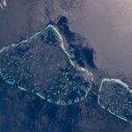 Badruddeen: Fantastic image of Kaafu Atoll via nasa #Maldives from #space 🚀 https://t.co/k2rJfOzAdq