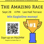 Time is running out to sign up for the Amazing Race! Dont miss out on your chance to win EagleOne money! #resgames https://t.co/XMMq20rnhj