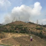 Casualitats! A dies de començar les obres al #PlaCaufec #Incendi #Collserola Cridem prou a lespeculació que ens crema la muntanya! https://t.co/uerfnCYA77
