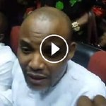 Video: Nnamdi Kanu Fearlessly Addresses IPOB, Journalists In Abuja High Court, What He Said… https://t.co/S8xRqBX9xY https://t.co/MiewuVN12U