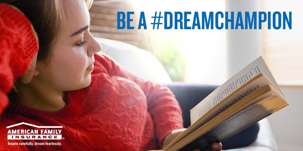 Take @amfam's life insurance quiz, support others' dreams & be a #DreamChampion! https://t.co/v8vkXL5Eqk https://t.co/pQjAtK3h1L