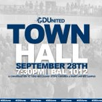 The #ODUnited Student Only Town Hall is an opportunity for students to discuss their experiences here on ODUs campus https://t.co/lou4NbVDUv