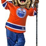 The #Edmonton #Oilers new mascot, Hunter the Lynx Very fitting given the #Calgary #Flames mascot is Harvey the Hound #cats and #dogs https://t.co/RiPceJXtOD