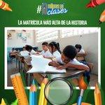 La Revolución garantiza educación gratuita al 80% de la población #10MillonesPaClases https://t.co/aZvI3uO80R