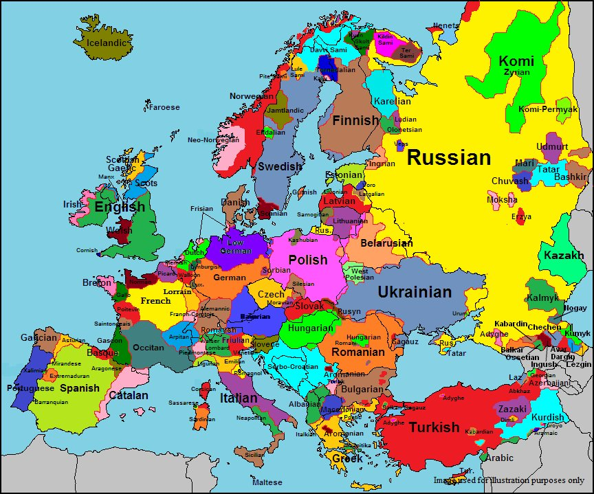 List of spanish speaking countries in europe
