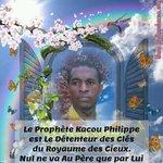 RT OrpheeTehe: LHomme qui tient les clès des cieux cest lHomme noir Kacou Philippe https://t.co/x2es0TZfSU https://t.co/BCQzFtDXvq