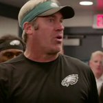 """Team win tonight.""  Exclusive look at Coach Pedersons postgame speech. #FlyEaglesFly https://t.co/VROj5hYZP9"