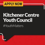 Between 15 - 19 years old? Apply to the #Kitchener Youth Council - Because #YouthMatters https://t.co/MYlFywIzHD https://t.co/H0NUDup8gq