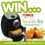 🌟#COMPETITION TIME🌟FLW&RT to WIN a Towers Health Fry 3.2 Litre Air Fryer! Competition ends 29/09/16 #Healthy #Win #Fryer #Food https://t.co/mN1UYsUzem