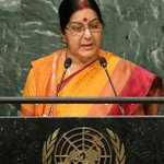 Fierce speech of @SushmaSwaraj ji echoed with d voice of 125 cr Indians at #UNGA https://t.co/GtAYG8qL4w
