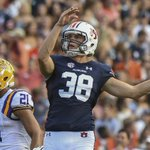 Six field goals good enough for Auburns Daniel Carlson to win weekly SEC special teams award. Read about it: https://t.co/xfUy6H2bsp https://t.co/UCNMEtVta9
