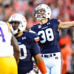 Congrats to @DanielCarlson38 on being named SEC Special Teams Player of week! Well done Ike Powell & Tyler Stovall! https://t.co/Zt9Dk9ug2d