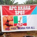 Na wa ooh! See this APC banner that everyone is talking about (photo) https://t.co/j4jMJxBLMh https://t.co/tO5I7H7Vi8