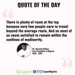 #QuoteOfTheDay by Dr. Nnamdi Azikiwe https://t.co/xcdYBrJgRi