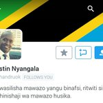 Maelezo katika ukurasa huu wa utambulisho wa @chandruok yameipa lugha adhimu ya #Kiswahili heshima stahiki. https://t.co/vXmMcjvT2L