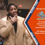 Marquis Smith of @SavStateTigers is our FCS National Defensive Player of The Week https://t.co/pvNEoo9t7W https://t.co/7RcXfAo03O