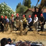 @mtnviewcityhall City Council at groundbreaking for Sobrato/St. Joseph Church mixed use project. https://t.co/FUhr2xybCR