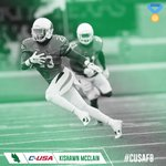 Congratulations to @MeanGreenFBs Kishawn McClain, #CUSAFB Defensive Player of the Week for Sept. 26! 🏅 https://t.co/kwphNEMD2R