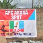 [PHOTOS] APC Opens Free 'Akara' Spot For Edo People Ahead Of GovernorshipElections https://t.co/4ifIwa7CrI https://t.co/DXAJvRDKbQ