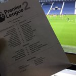 Both #SCFC and @WBA name strong line-ups for this evenings Premier League 2 game #SCFC https://t.co/q5Rdw9s4Bd