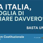 Cara #Italia, hai voglia di cambiare davvero? Il #4dicembre @bastaunsi! https://t.co/iauUxAj5LH