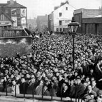 Thousands of Newcastle fans que to get in to St James Park in 1957 #NUFC #NewcastleUnited https://t.co/rEDEs9YBNZ