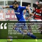 Concorda que Rafael Sóbis não está jogando na posição ideal, torcedor? https://t.co/UwF7CvuY0B