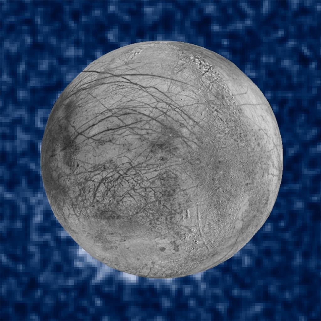 We've spotted possible water plumes erupting on Jupiter's moon Europa using @NASA_Hubble: https://t.co/UvnkSeM4D3 https://t.co/oEeBmogSNw