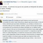 Yo Luis borraría facebook... https://t.co/Y6CawymJ9Q