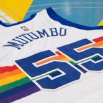 Nuggets announce theyll retire Dikembe Mutombos jersey on opening night. Will also rock these 🔥 jerseys. https://t.co/V0ANjHeLk4