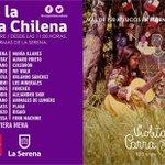Muestra de la gran oferta musical de nuestra región en #DíaDeLaMúsicaChilena 2016. Actuamos a las 11.00 Ven! https://t.co/M5aWLlnOMV