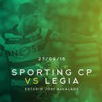 Amanhã Sporting Clube de Portugal VS Legia ! ⚽ #UCL https://t.co/rqUenGLME8