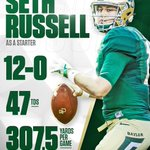 Seth Russell doing work. 🏈🙌 #SicEm https://t.co/E5VwAdhS1a