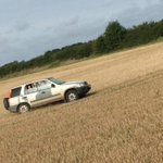 Hare coursers making off yesterday in Ixworth in a late 90s gold Honda CRV with distinctive paint work. https://t.co/vevRfmuc2G