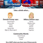 Drinking game for #DebateNight, anyone? https://t.co/YBQVgfPIAd