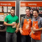 Tim giving Homers to Josiah and Danny for keeping d23 in the top 3 #6552 @JoshWeeksTHD @Denise_medina6 https://t.co/JdFgAkwQpN